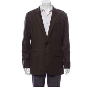 Allsaints brown wool blazer size 42